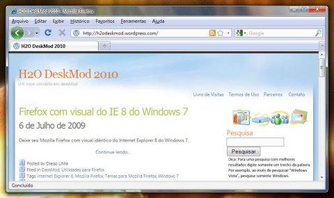 Firefox com Ícone Trocado