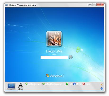 Download do windows 7 logon screen editor